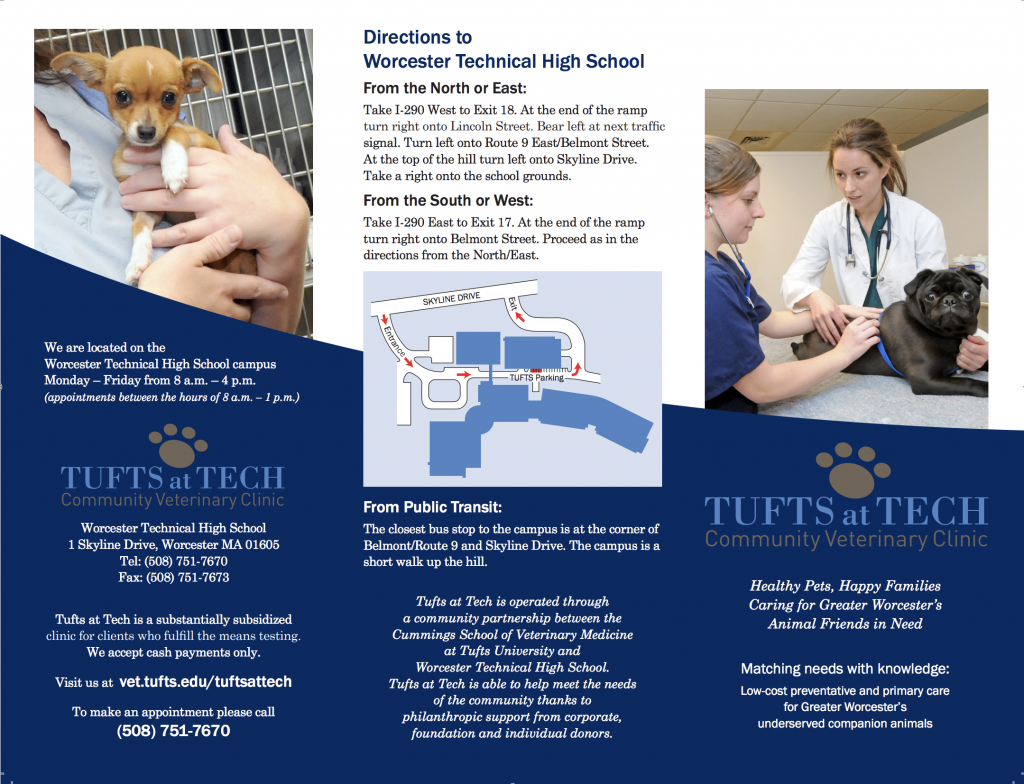 Appointments at Tufts at Tech - Cummings Veterinary Medical